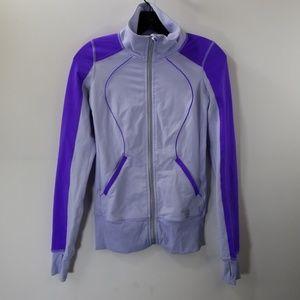 Lululemon Athletica Purple Workout Zip Up Jacket